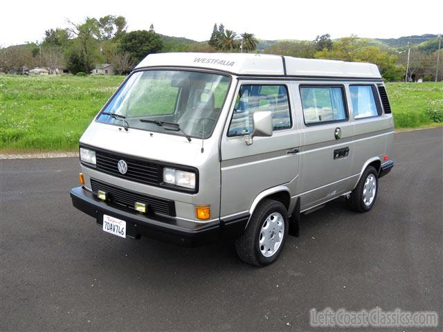1990 Volkswagen Westfalia Gl Camper For Sale